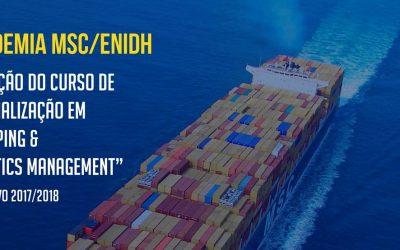 """3ª Edição do Curso de Especialização em """"Shipping & Logistics Management"""""""