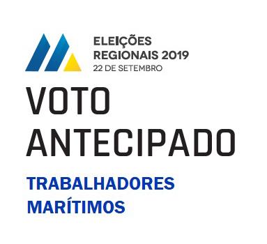 Eleições Regionais 2019 – Voto Antecipado