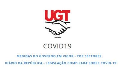 UGT – Informações sobre Medidas do Governo e legislação compilada sobre o COVID-19