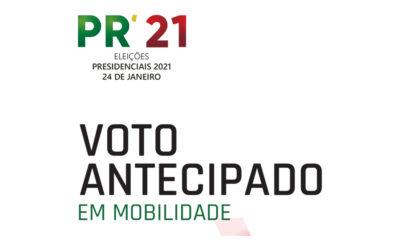 Voto antecipado em mobilidade – Eleições Presidenciais 2021